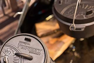 Petromax Feuerschalen sind langlebig und perfekt fürs Lagerfeuer